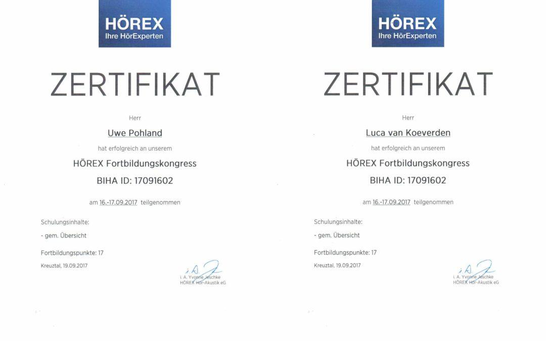 HÖREX Fortbildungskongress
